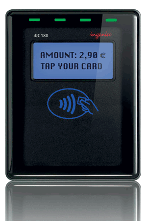 iUC180 payment terminal - SONET provider