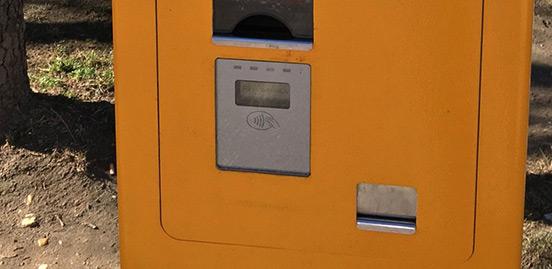 Inovácia automatov pre nákup<br/>cestovných lístkov a možnosť<br/>platby platobnou kartou