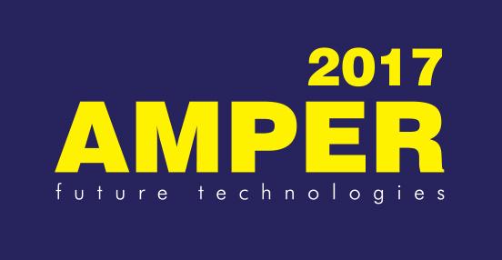 Samoobslužný platební terminál pro elektromobily na veletrhu AMPER 2017