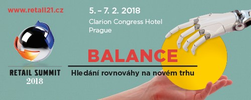 Účastníme se Retail Summitu v Praze  5.2. – 7.2.2018