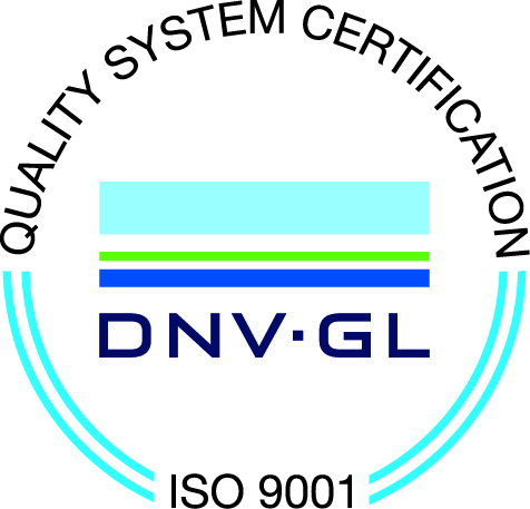 Certifikát systému řízení ISO 9001:2015